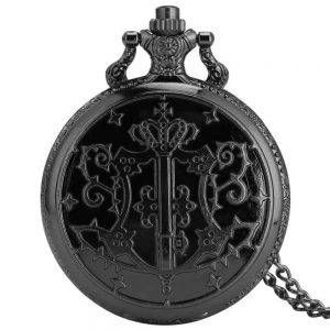 black butler pocket watch