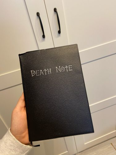 Death Note Notebook photo review