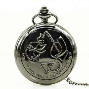 edward elric pocket watch