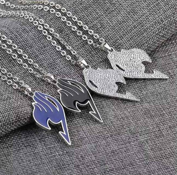 fairy tail necklaces