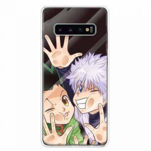 gon and killua samsung phone case