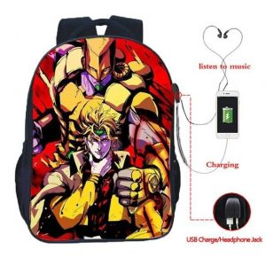 jojo's bizarre adventure backpacks for school