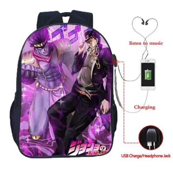 jojo's bizarre adventure bag