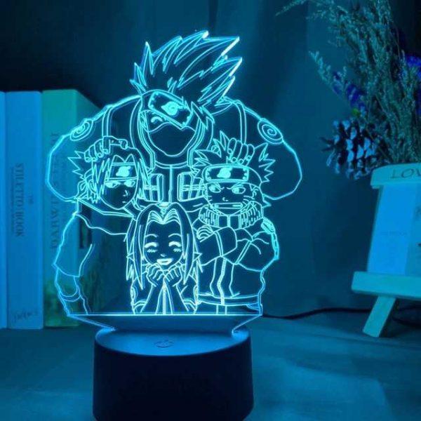 naruto 3d lamp