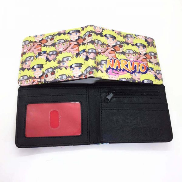 naruto card holder wallet