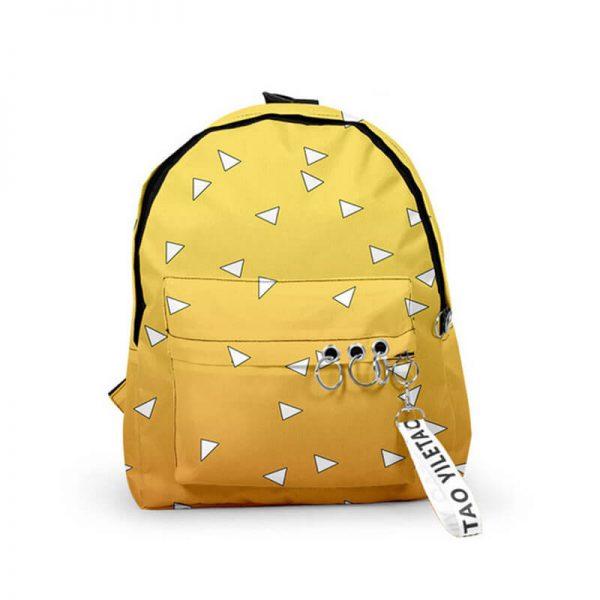 zenitsu demon slayer backpack