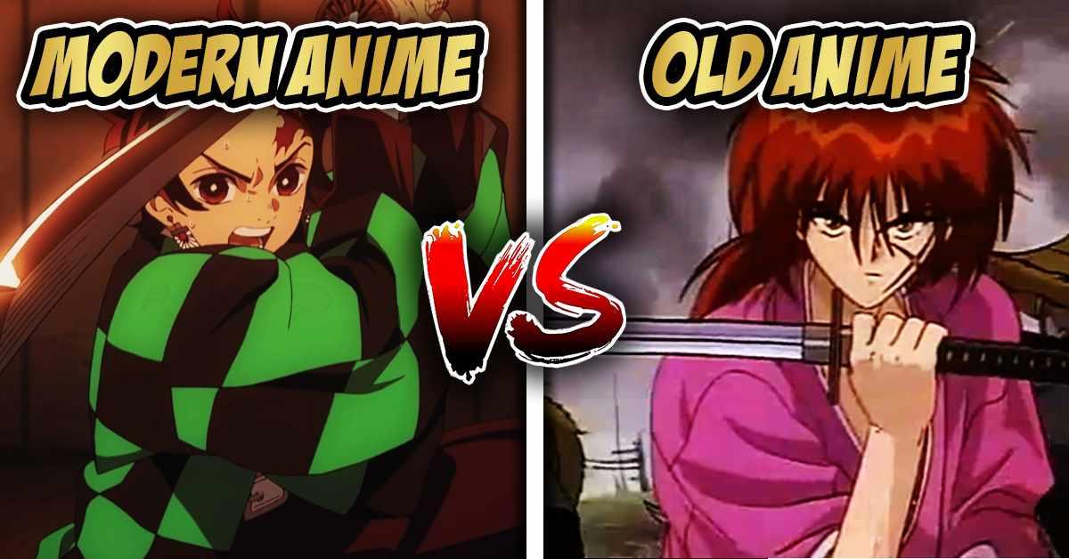 modern anime vs old anime