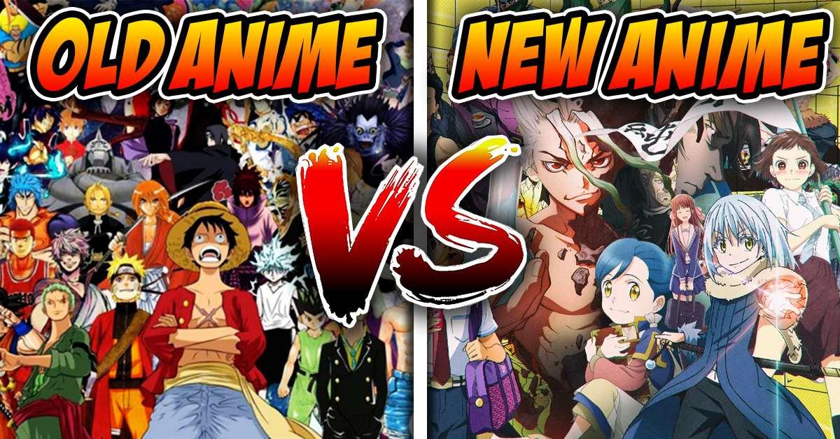 old anime vs new anime