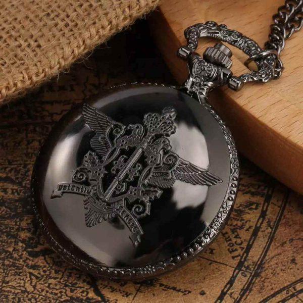 sebastian michaelis iron pocket watch