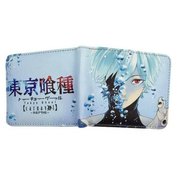 tokyo ghoul wallet leather