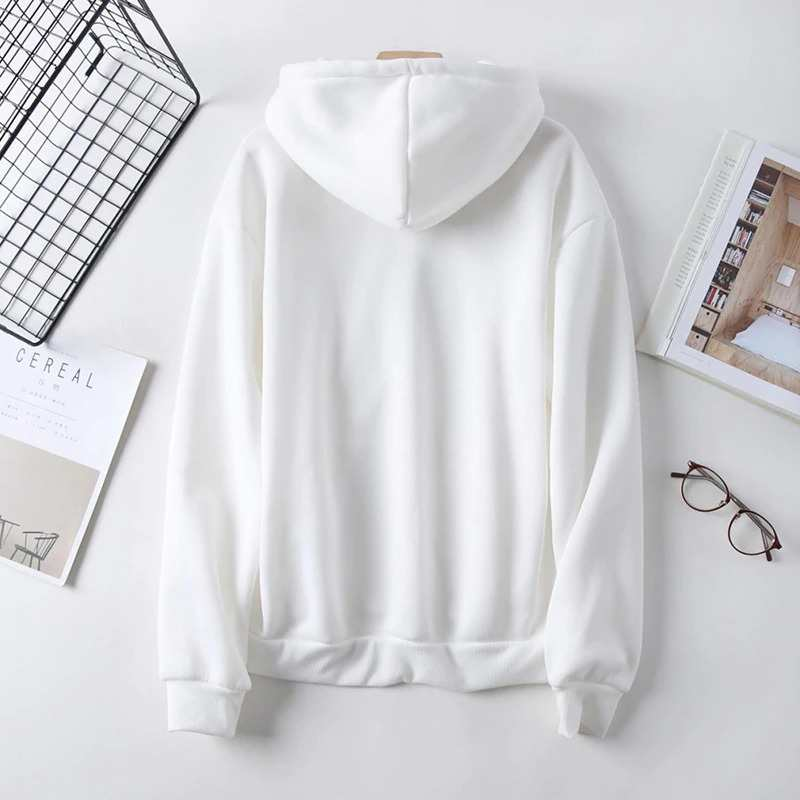 zero two sweatshirt back white color