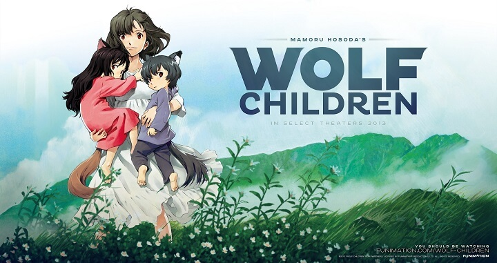 best movies Wolf Children for beginners and kids