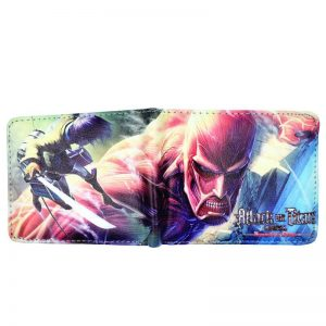 attack on titan long wallet