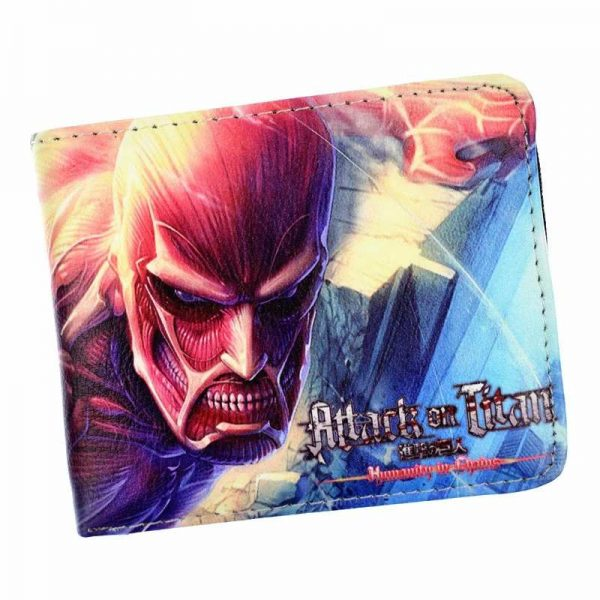 attack on titan wallet