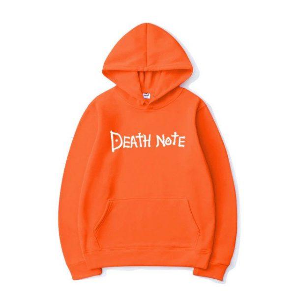 death note men hoodie