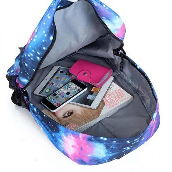 fairy tail backpack glow in the dark