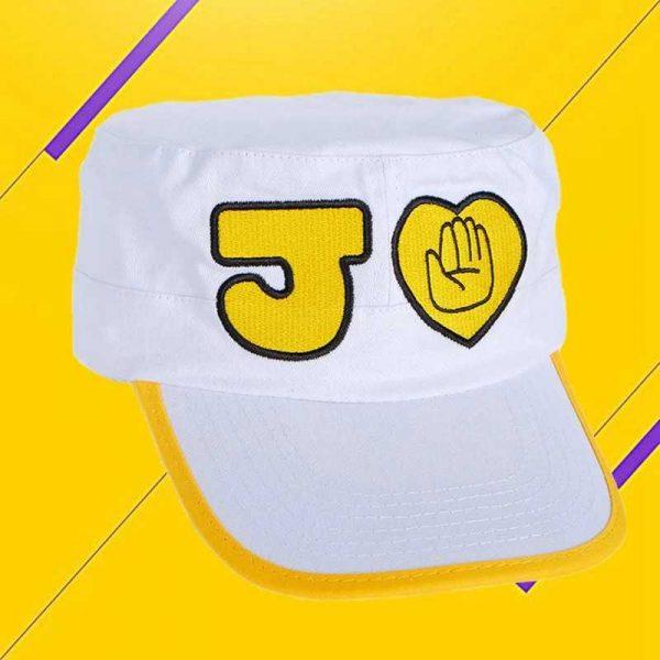 kujo jotaro white hat