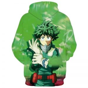 my hero academia back jacket