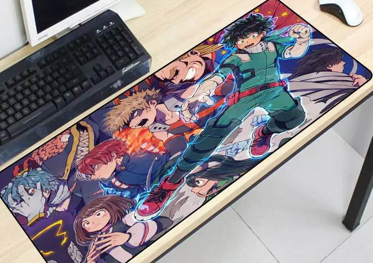 my hero academia gaming mouse pad