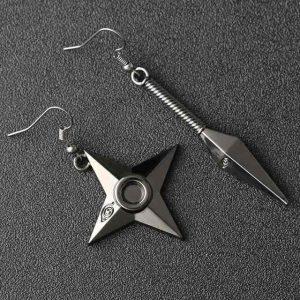 naruto sharingan earrings
