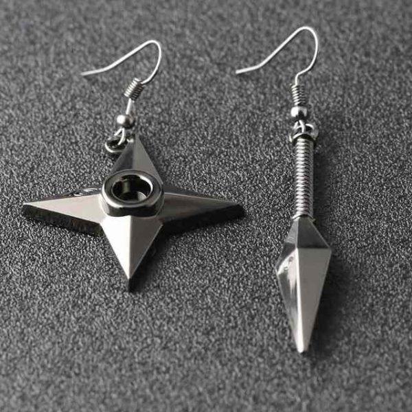 naruto symbols earrings