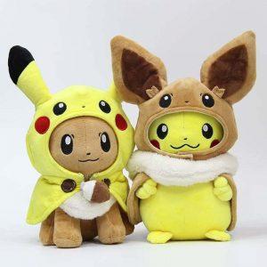 pikachu cosplay plush