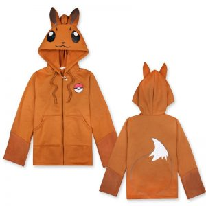 pokemon lets go eevee hoodies