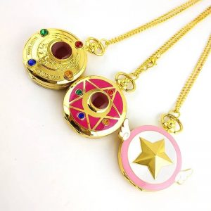 sailor moon pocket watch
