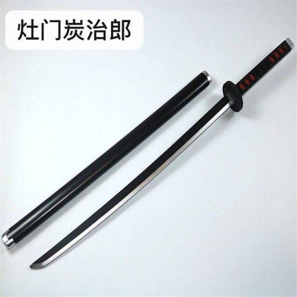 tanjiro red sword