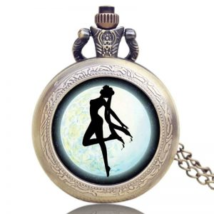 sailor moon collectible pocket watch