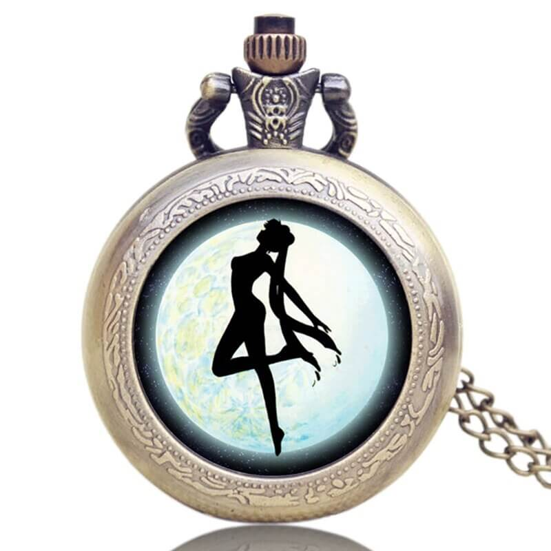 sailor moon collectible pocket watch