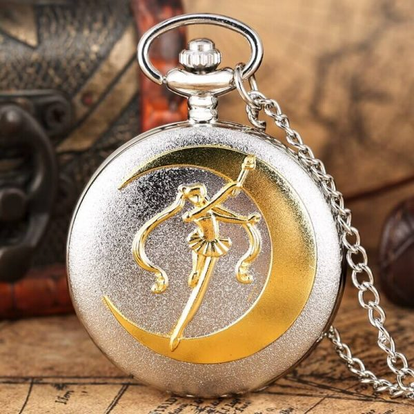 sailor moon crystal star pocket watch anime