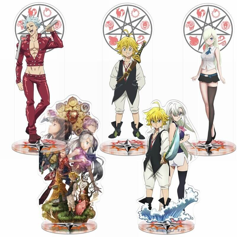 seven deadly sins figures
