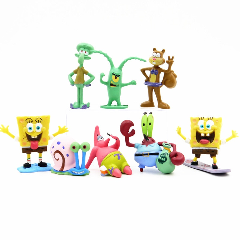 spongebob action figure