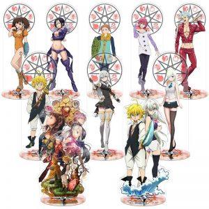 the seven deadly sins anime toys