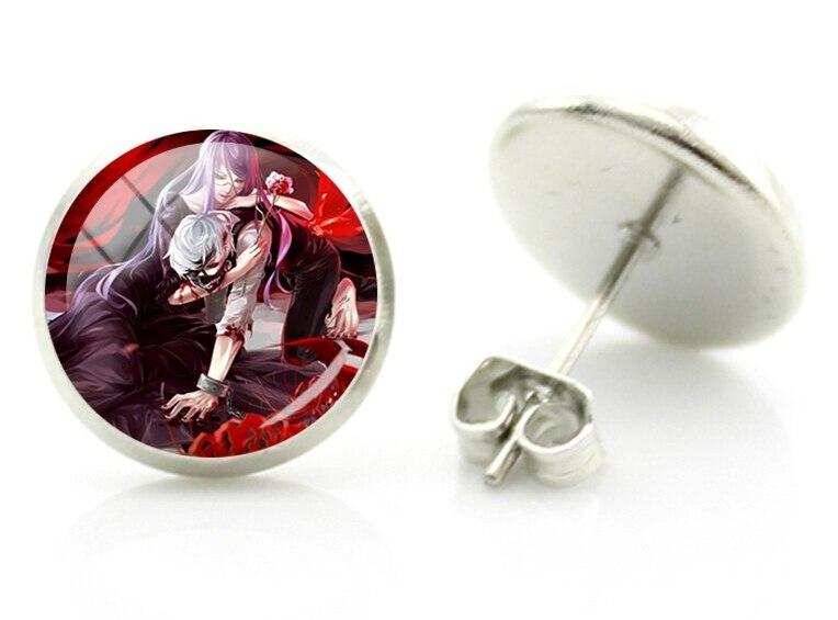tokyo ghoul stud earrings