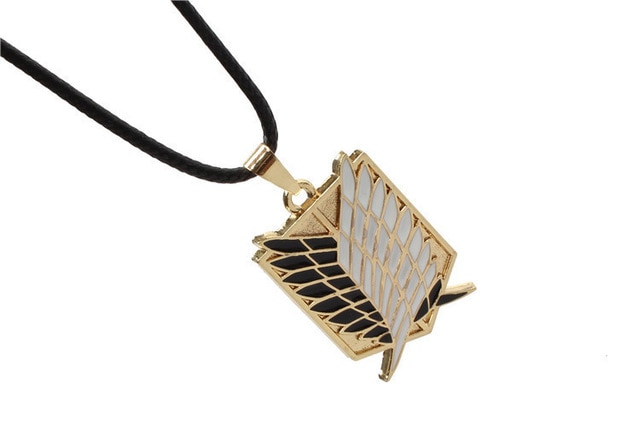 attack on titan wings of liberty pendant