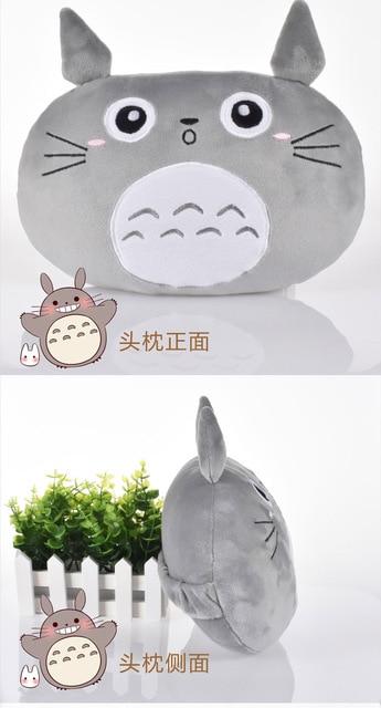totoro plush pillow