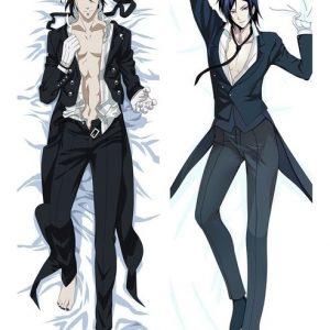 sebastian black butler body pillow