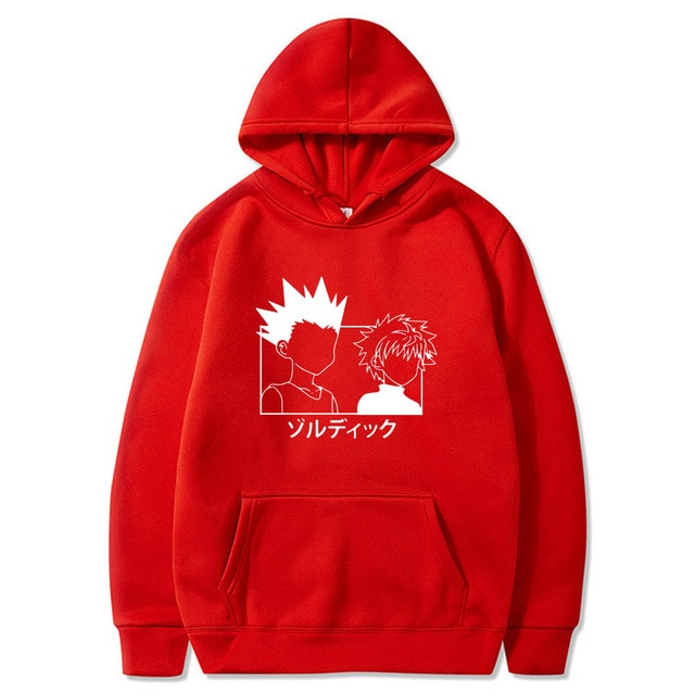 gon and killua hoodie