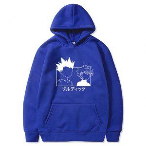 hunter x hunter zip hoodie