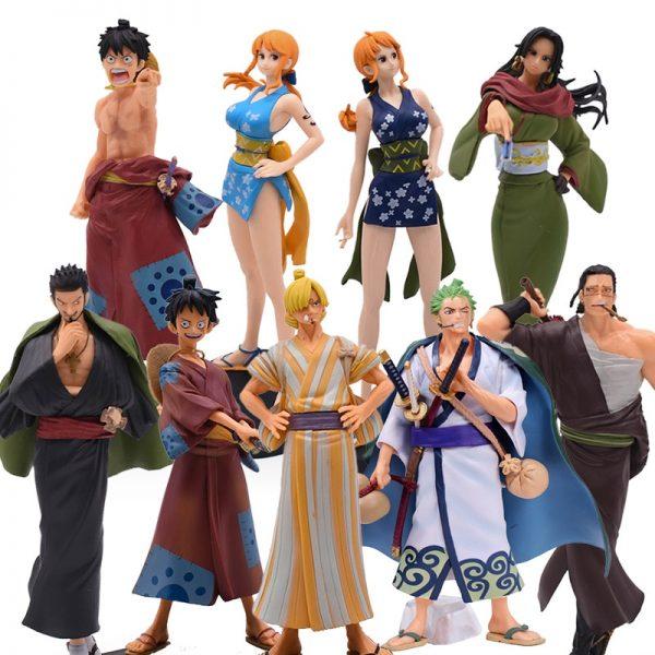 One piece wano figures