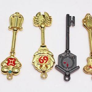 fairy tail key set