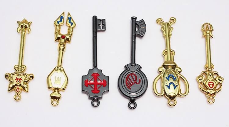 fairy tail zodiac keys