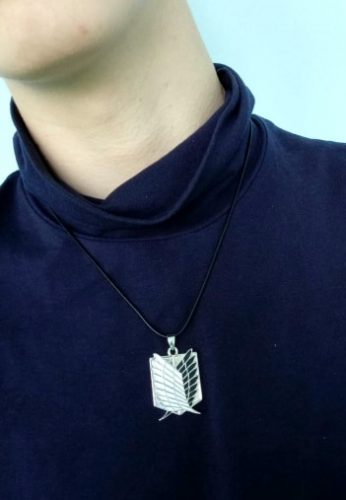 Attack On Titan The Wings Of Freedom Necklace photo review
