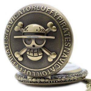 straw pirate pocket watch