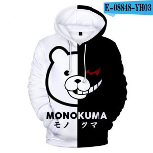 dangan ronpa monokuma hoodie