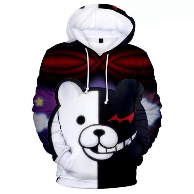 danganronpa monokuma hoodie