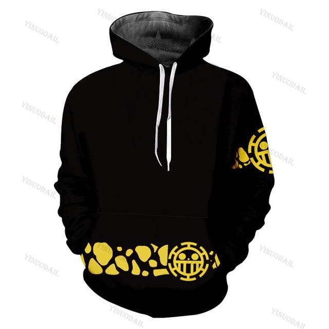 one piece trafalgar law hoodie