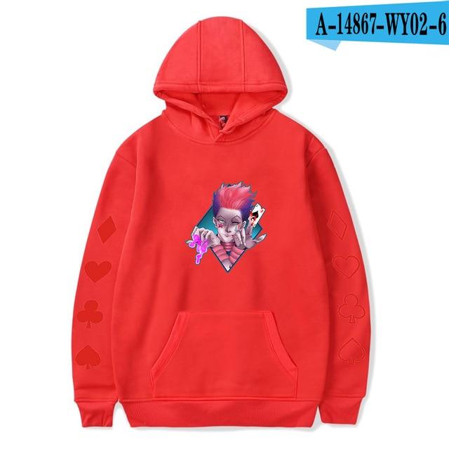 hisoka anime sweatshirt